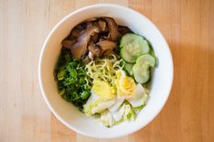 Ginger Scallion Noodles - With ginger scallion sauce in the fridge, you'll never go hungry.
