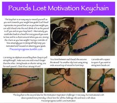 Motivational Projects | Pieces in Progress: Blogging my way fit.