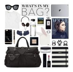 """Keri Jane the ultimate Weekender"" by kerikitbags ❤ liked on Polyvore featuring Kate Spade, Parker, Victoria Beckham, Yves Saint Laurent, By Terry, Bobbi Brown Cosmetics, Jo Malone, CÉLINE, Menu and Polaroid"