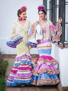 Somos Flamencas.Manuela Macias Spanish Dress, Dance Music, Flamingo, Harajuku, Ball Gowns, Culture, Boho, Pink, Inspiration