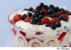 Summer Berry Triffle