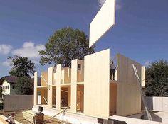 cross laminated timber construction - Cerca con Google