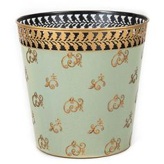 Baroque Swirl Waste Paper Bin | Decorative boxes in 2019