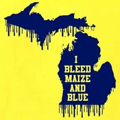 Maize and Blue University Of Michigan Athletics, Michigan Wolverines Football, Ohio State Buckeyes, Coney Dog, Michigan Go Blue, College Football Teams, Home Team, College Fun, Ann Arbor
