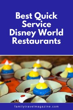 When dining at Walt Disney World, you'll have lots of restaurant options. Quick service restaurants can be a great flexible option, because you won't need a reservation and can go at any time. You can also use the Disney Dining Plan at Quick Service restaurants. Here are the best quick service Disney restaurants in our experience.
