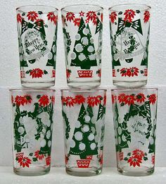 Five Vintage Retro Kitsch Holiday Christmas by RetroCentsStudio
