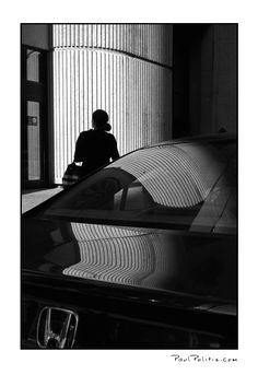 Citizen Silhouette #2 (black and white photograph)
