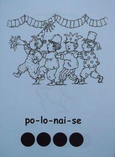 * Lettergreep kaart: polonaise
