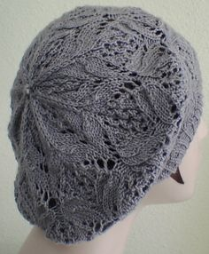 Lacy Knitted hat