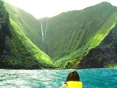 I am extremely familiar with Papalaua Falls. I used to run kayak trips down Koolau Moloka'i and will again someday. I also made two documentaries including