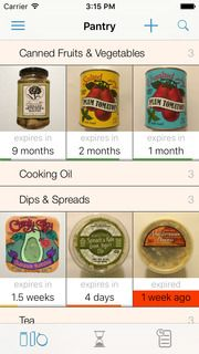 It Allows You To Easily Inventory Your Groceries By Scanning A Barcode.  Simple, Streamlined, And FREE!    Pantry Check   Kitchen And Grocery List  Tracking ...