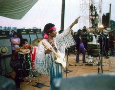 Jimi at Woodstock