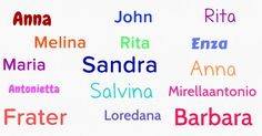 Which names will always be in your heart?