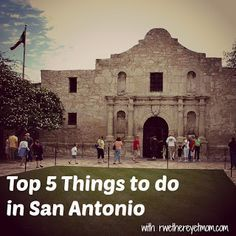 Top 5 Things to do in San Antonio, TX when visiting for USAF BMT Graduation