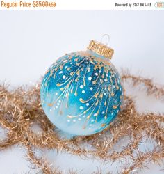 Items similar to Christmas bauble, Christmas balls, Christmas ornaments, Handpainted ornaments, Teal Christmas Globes, Christmas Baubles, Christmas Art, Christmas Holidays, Christmas Mandala, Christmas Ideas, Glass Christmas Balls, Christmas Ornament Crafts, Christmas Tree Ornaments