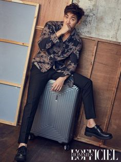 Yoon Kye Sang is Featured in L'Officiel Hommes   Koogle TV