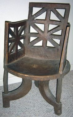 African chair