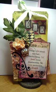 Dad's Day Tag withHelmar