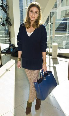 The Olivia Palermo Lookbook : New York Fashion Week Spring/Summer 2012 : Olivia Palermo at Rachel Roy