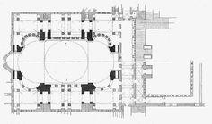 Located Near Lapland Hotels Oulu, Hagia Sophia (/ˈhɑːɡiə soʊˈfiːə/; from the Greek Αγία Σοφία, pronounced Byzantine Architecture, Classical Architecture, Historical Architecture, Architecture Plan, Architecture Details, Hagia Sophia Istanbul, Monospace, Architectural Floor Plans, Amor