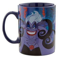 disney cups Ursula Disney villains coffee mug