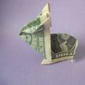 7 Simple Steps to An Adorable Money Origami Bunny: Your Dollar Origami Bunny Is Complete