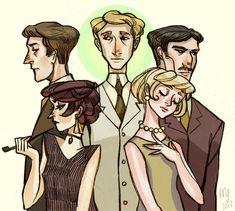 The Great Gatsby by nebula-tea.deviantart.com