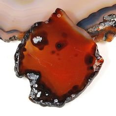 Agate gemstone Slice pendant bead K1716GA06