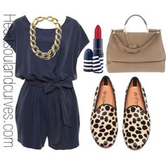 """""""Causal Chic"""" by adoremycurves on Polyvore"""