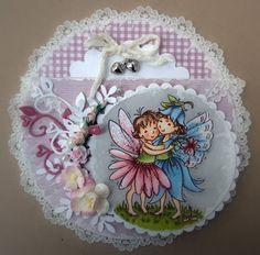Tina Wenke, Stampavie, A Fairy Hug, love, card, Promarkers