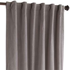 sheridan velvet charcoal curtain