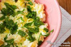 Receita de Ovos Mexidos - Café da Manhã