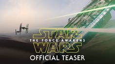 Get your first look at Star Wars: The Force Awakens in the new 88-second teaser. Episode VII in the Star Wars Saga, Star Wars: The Force Awakens, opens in th...