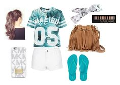 """""""Casual Sunny Day Outfit"""" by hasnabadji on Polyvore"""