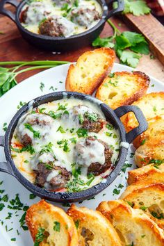 Meatball Parmesan Dip Recipe : Meatball parmesan served as a dip for your snacking pleasure! Parmesan Meatballs, Atkins, Yummy Appetizers, Appetizer Recipes, Dips, Parmesan Dip Recipe, My Favorite Food, Favorite Recipes, Sports Food