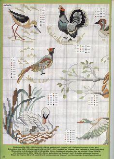 Cross Stitching, Cross Stitch Embroidery, Embroidery Patterns, Mini Cross Stitch, Cross Stitch Animals, Cross Stitch Designs, Cross Stitch Patterns, Bird Crafts, Stuffed Animal Patterns