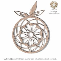 Detailed dream catcher template for laser cutting. Art Template, Templates, Dream Catcher Vector, Scroll Saw Patterns, Dream Catchers, Vector Pattern, Wooden Boxes, Laser Cutting, Mother Day Gifts