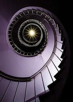 Purple Staircase by liquidkingdom