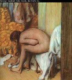 Nude Woman Drying her Foot  Edgar Degas