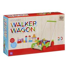 Kids Wooden Walker Wagon Play Cart with 20 Blocks Toy Car Trolley Push Bricks for sale online Kids Wooden Kitchen, Bricks For Sale, Kid N Play, Wooden Car, Babies First Christmas, Wood Toys, Family Kids, Toy Chest, Kids Toys