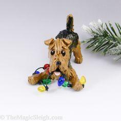 Welsh Terrier Ornament