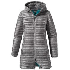 Ideal for colder mornings, then packs down small for the warmer daytime. Patagonia Women's Ultralight Fiona Parka Platinum