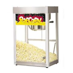 Free Lift Gate Delivery on large units Included to get unit off the truck only. Easy to use, this 8 oz. popcorn machine boasts a stainless steel The Super JetStar's simple control panel allows independent control of the motor and kettle heat (top switch) Concession Stand Food, Concession Trailer, Specialty Appliances, Kitchen Appliances, Frozen Drink Machine, Frozen Drinks, Snack Bar, Kitchen Items, Kitchen Gadgets