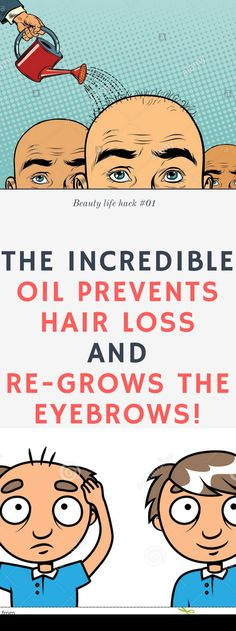The Incredible Oil Prevents Hair Loss and Re-Grows The Eyebrows!!! Here is !!! Need to know.!!