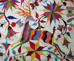 Beautiful handmade embroidery from Mexico.