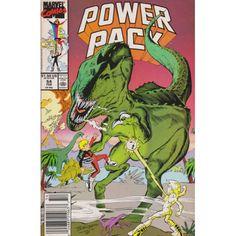 POWER PACK #54   1984-1991   VOLUME 1   MARVEL   $4.50