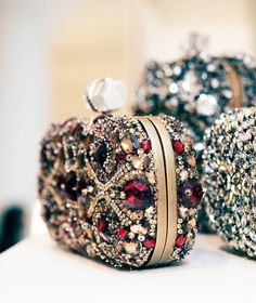FANCY bejeweled clutch