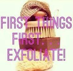 #2 rule for a great spray tan. Exfoliate! #1 rule for a great spray tan. Use Jamaica Me Tan sunless solutions! www.jamaicametan.com/360.441.2044