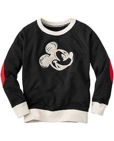 Disney Mickey Mouse Embroidered Sweatshirt | Boys Hoodies & Sweatshirts