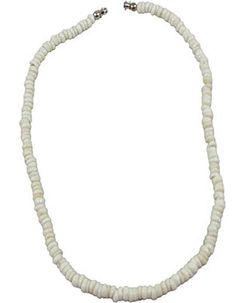 Small White Puka Shell Necklace